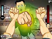 Флеш игра онлайн Убить диктатора! / The Brawl 8 - Kim Jong Un