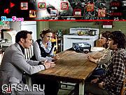 Флеш игра онлайн Игра в прятки с пикселями / The Conjuring Hide and Seek