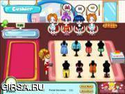 Флеш игра онлайн Магазин одежды
