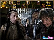 Флеш игра онлайн Прятки с Хоббитом / The Hobbit hide and seek