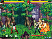 Флеш игра онлайн The King of Fighters vs DNF