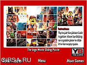 Флеш игра онлайн Лего. Пазл / The Lego Movie Sliding Puzzle