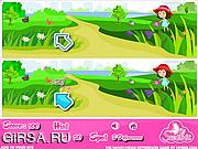 Флеш игра онлайн Ранчо. Найти отличия / The Ranch House Differences