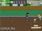 Флеш игра онлайн The Simpsons Shooting