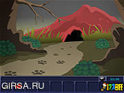 Флеш игра онлайн Избежание села: Спасение полета животное / The Village Escape: Mission Animal Rescue
