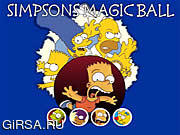 Игра Simpsons Magic Ball
