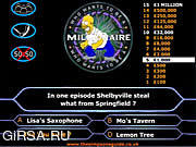 Игра Simpson's Millionaire