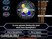 Флеш игра онлайн Simpson's Millionaire