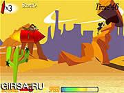 Флеш игра онлайн Езда Wile E. Rocket / Wile E. Rocket Ride