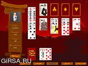 Флеш игра онлайн Пасьянс Ронин