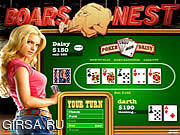 Флеш игра онлайн Придурки из Хаззарда холдем / The Dukes of Hazzard Hold 'Em