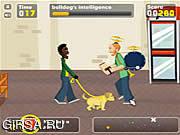 Флеш игра онлайн Приключения щенка / Pup World