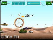 Флеш игра онлайн Армейский Вертолет
