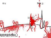 Флеш игра онлайн Человечки-Палочки - Кровавое Месиво
