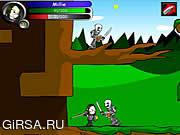 Флеш игра онлайн Millie Megavolte 2: Millie и украденная шпага внушительного / Millie Megavolte 2: Millie and the Stolen Sword of Awesome
