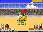 Флеш игра онлайн Swords and Sandals - Gladiator