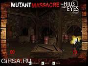 Флеш игра онлайн У Холмов Есть Глаза - Резня Мутанта