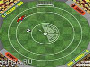 Флеш игра онлайн Soccerpong / Soccerpong