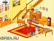 Флеш игра онлайн Гостиная Декор детская комната / Kid's Living Room Decor