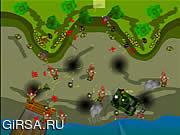 Флеш игра онлайн Бесконечная битва 1 / Endless War 1