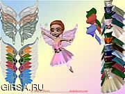 Флеш игра онлайн Маленькая Фея Платье Вверх / Little Fairy Dress Up