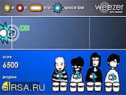Флеш игра онлайн Weezer Jam Session