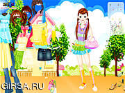 Флеш игра онлайн Dress Up Doll 2