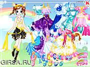 Флеш игра онлайн Ловели - Мода 13 / Lovely Fashion 13