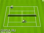 Флеш игра онлайн Tennis