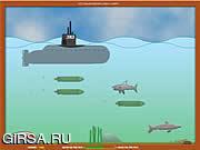 Флеш игра онлайн Нападение акул / Sharks Attack