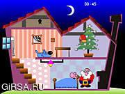 Флеш игра онлайн Одиссее Санты / Santa's Oddysey