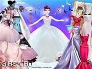 Флеш игра онлайн Барби в платье
