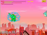 Флеш игра онлайн Город монстров