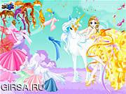 Флеш игра онлайн Одевается фея