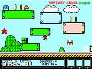 Флеш игра онлайн Супер прыжок Марио