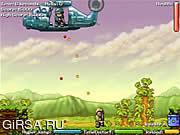 Флеш игра онлайн Нападение Heli 2