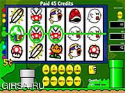 Флеш игра онлайн Super Mario World Slots