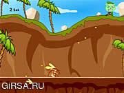 Флеш игра онлайн Счастливые друзья вала - нападение Flippy / Happy Tree Friends - Flippy Attack