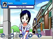Флеш игра онлайн Love Hina Sim Date RPG