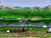 Флеш игра онлайн Мания велосипеда