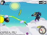 Флеш игра онлайн Линия бегунок / Line Runner