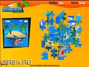 Флеш игра онлайн Райский остров. Пазл