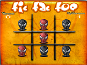 Флеш игра онлайн Tic Tac Toe Spiderman