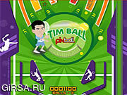 Флеш игра онлайн Тим Шарик Пинбол