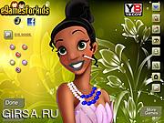 Флеш игра онлайн Макияж Принцессы Тины / Tina Princess Makeover
