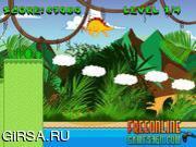 Флеш игра онлайн Приключения Дино / Tiny Dino Adventure