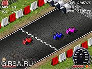 Флеш игра онлайн Формула 1 / Tiny F1