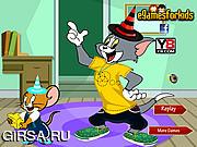 Флеш игра онлайн Том и Джери / Tom and Jerry Dress Up