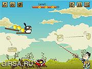 Флеш игра онлайн Томми против птиц