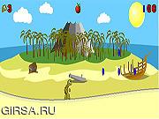 Флеш игра онлайн Тони Черепаха и остров приключений